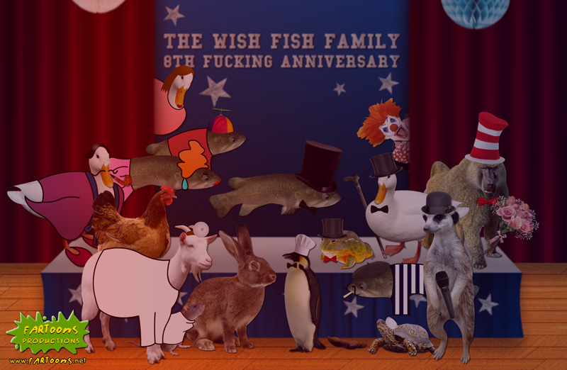 The Wish Fish Family 8th Anniversary